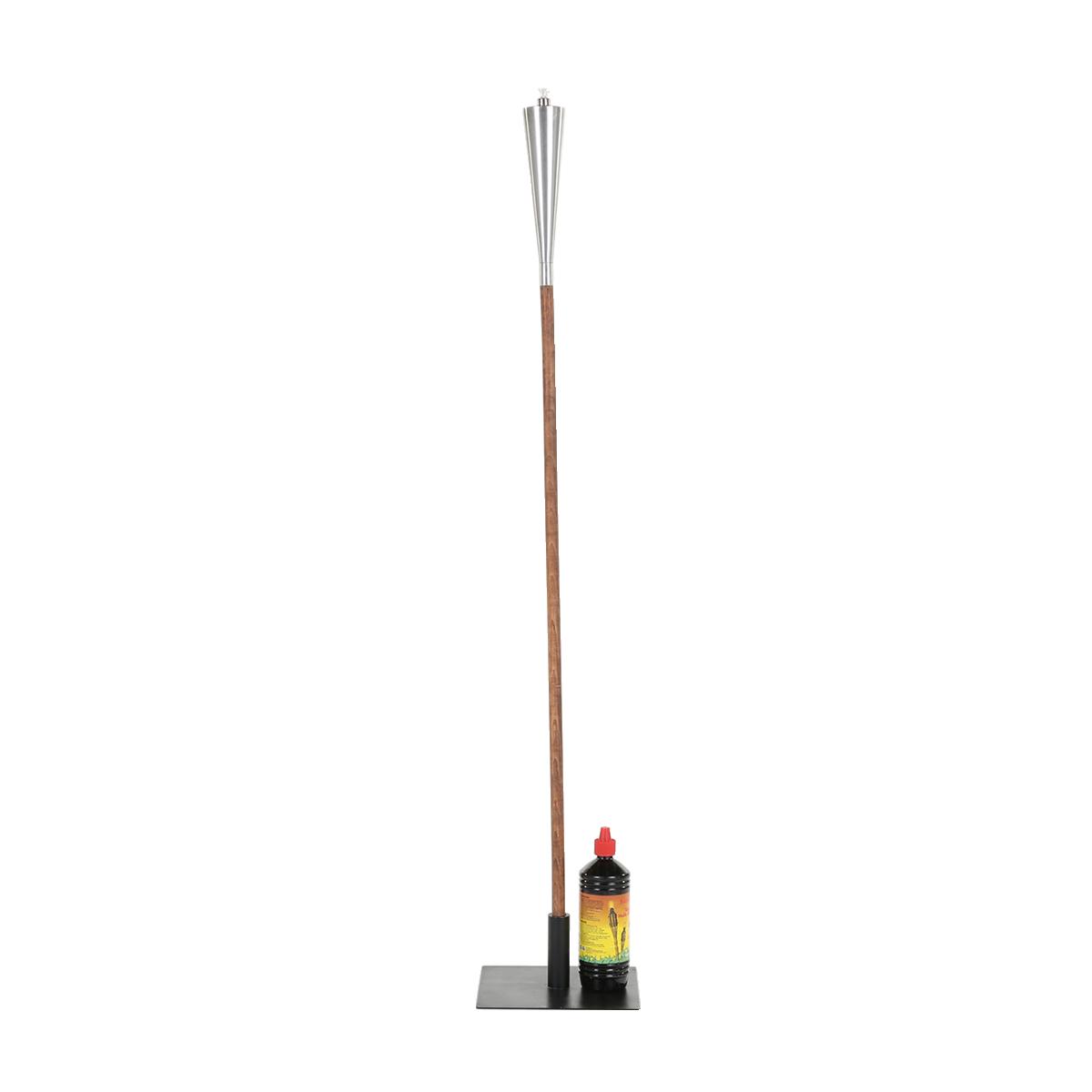 dieeventausstatter Gartenfackel mit Standfuß