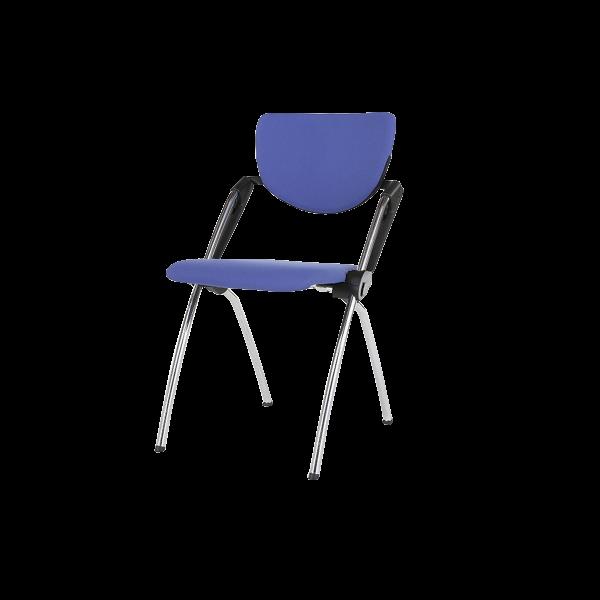 dieeventausstatter Konferenzstuhl blau