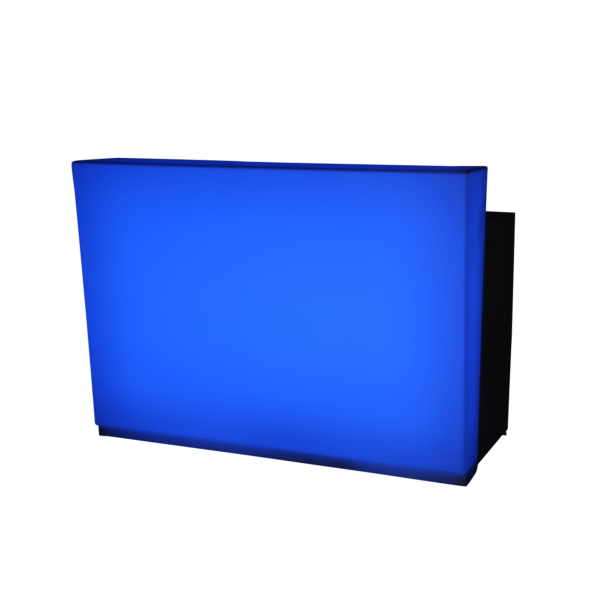 dieeventausstatter LED-Bar blau