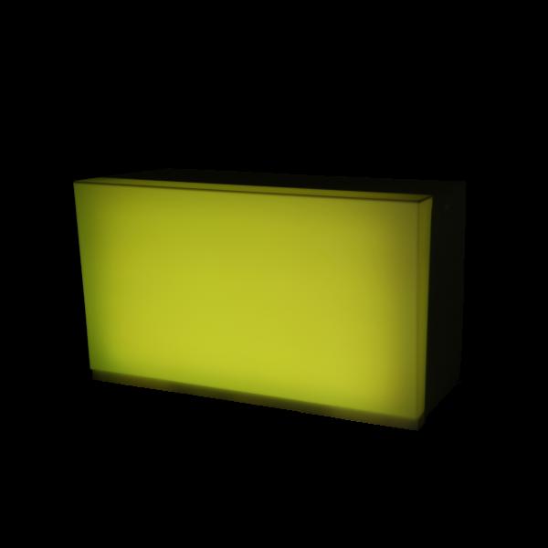 dieeventausstatter LED-Buffet hellgrün