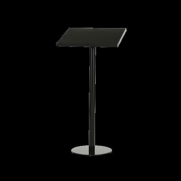 Auslagen oder Rednerpult in schwarz
