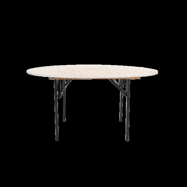 dieeventausstatter Banketttisch rund 180 cm