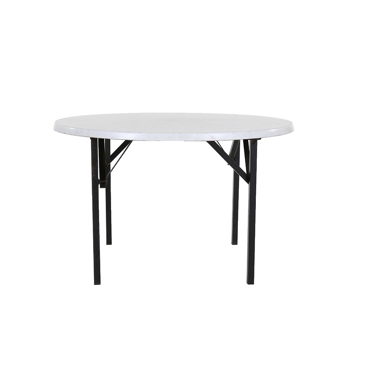 dieeventausstatter Banketttisch rund 120 cm