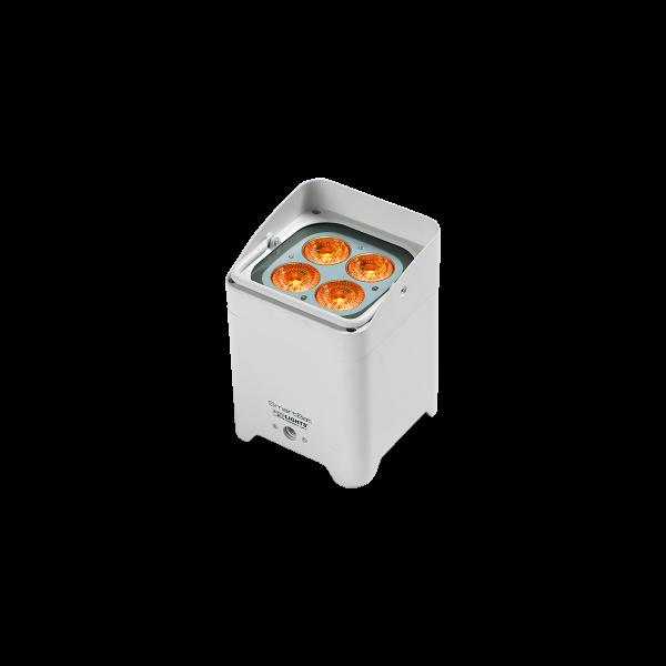 dieeventausstatter LED RGB Akku Standleuchte weiss