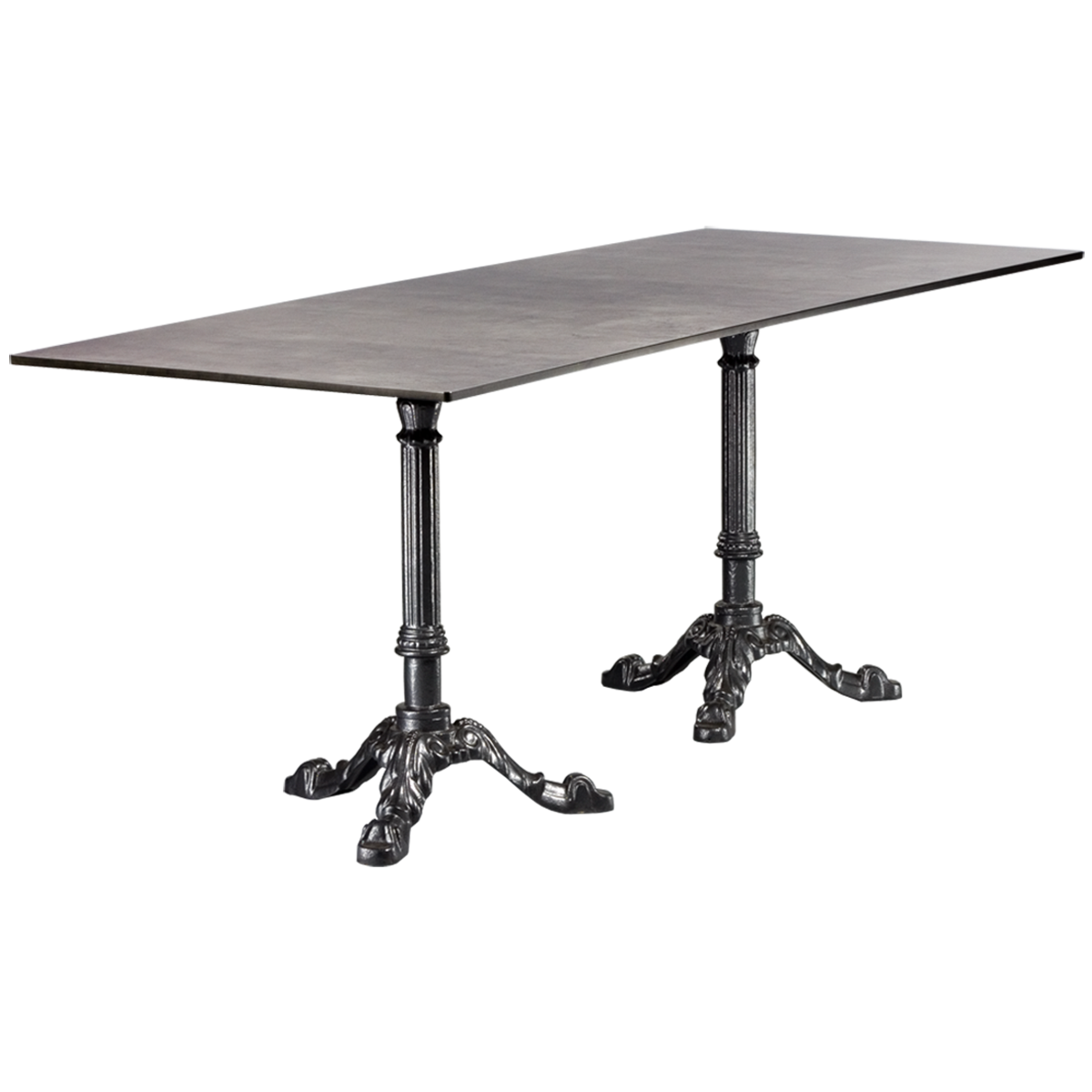 dieeventausstatter Sitztisch Classic Platte outdoor Beton