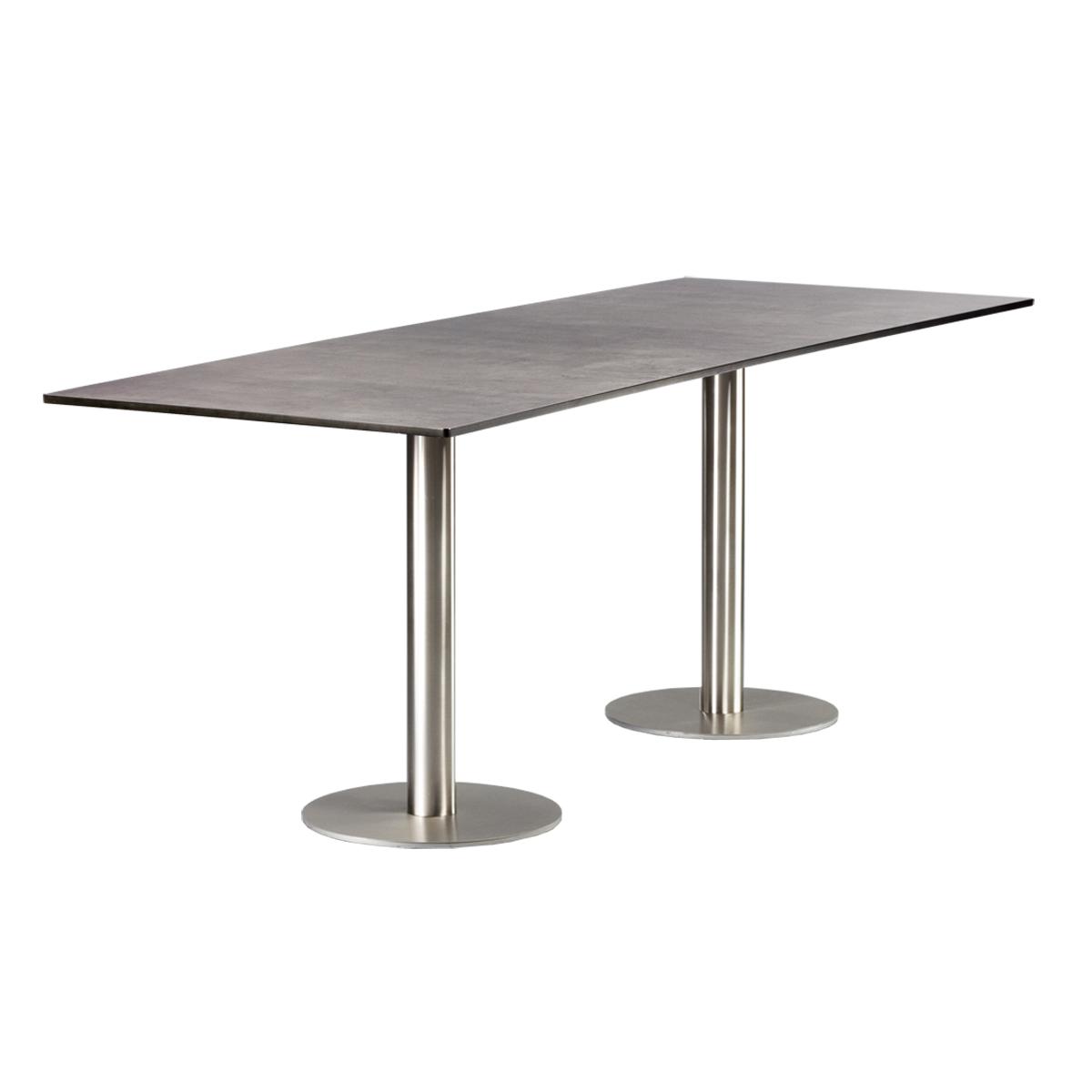 dieeventausstatter Sitztisch Modern Platte outdoor Beton