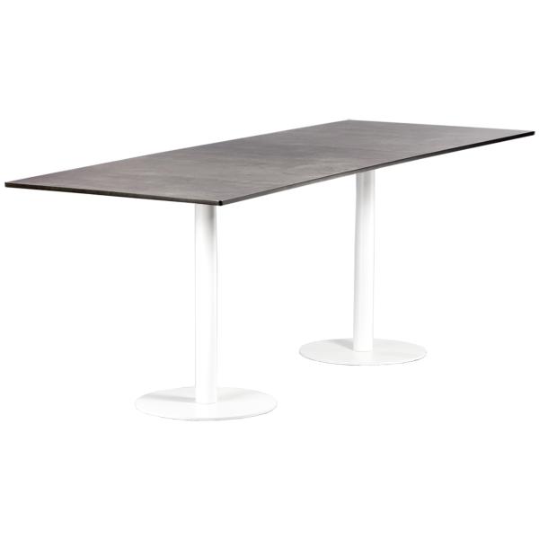 dieeventausstatter Sitztisch Modern black&white outdoor Beton