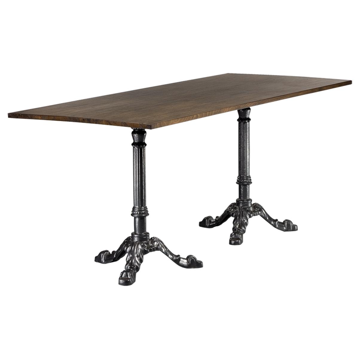 dieeventausstatter Sitztisch Classic Platte Altholz