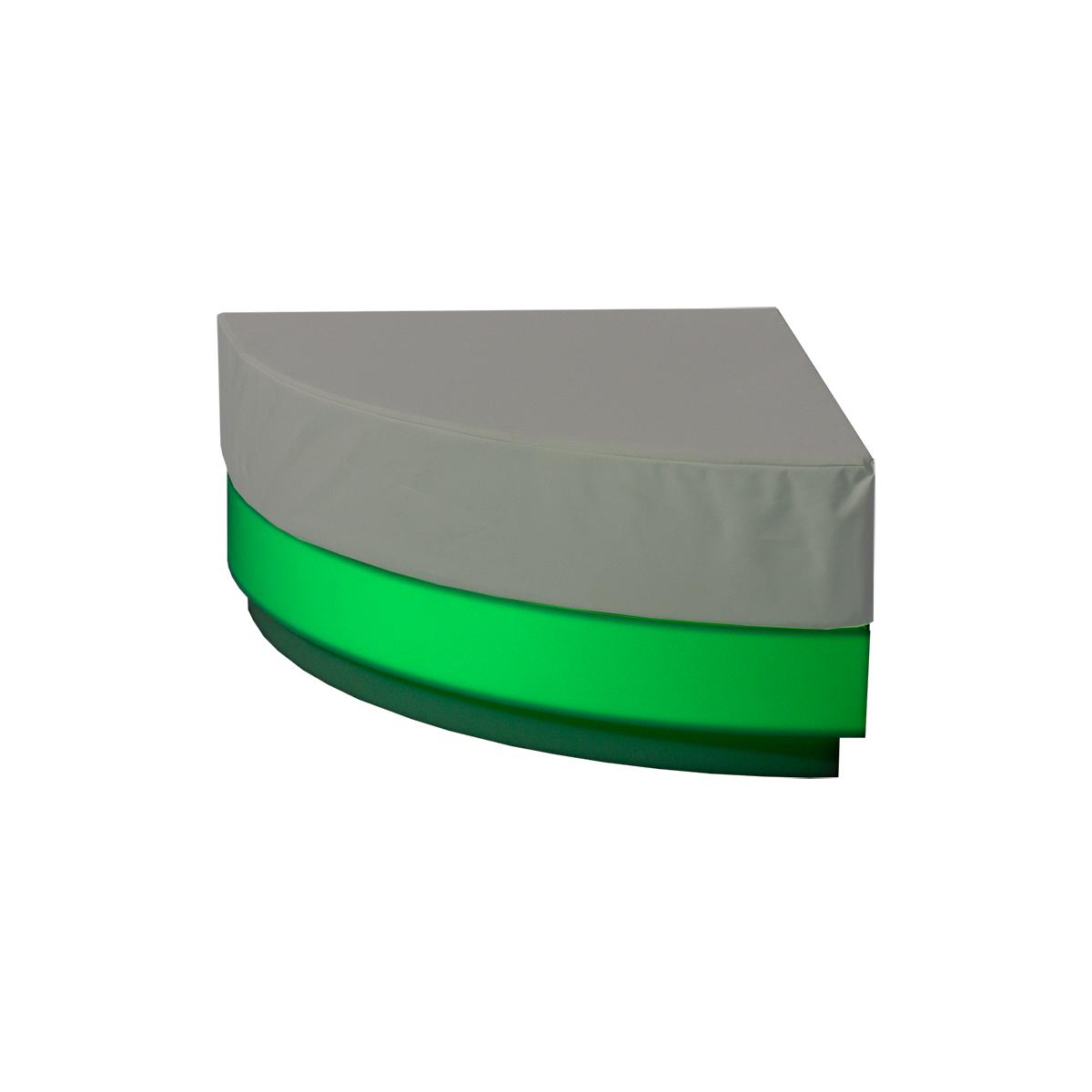 dieeventausstatter LED-Lounge RGB Ecke grün