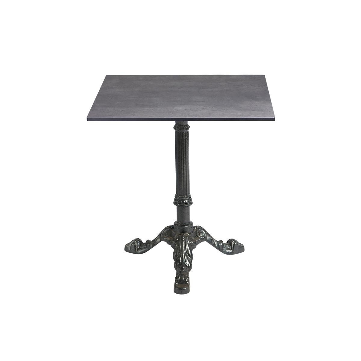 dieeventausstatter Sitztisch Classic Platte outdoor Beton eckig
