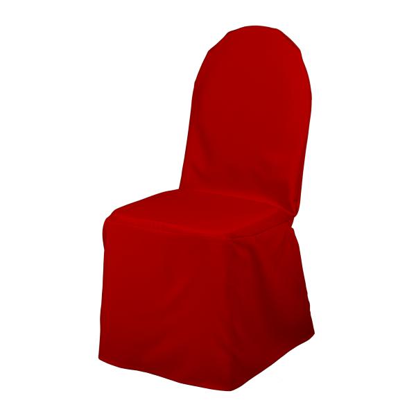 dieeventausstatter Stuhlhusse Classic rot