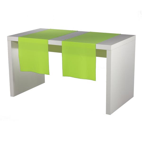 dieeventausstatter Tischläufer apfelgrün