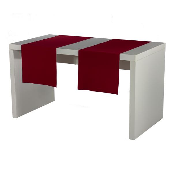 dieeventausstatter Tischläufer rot
