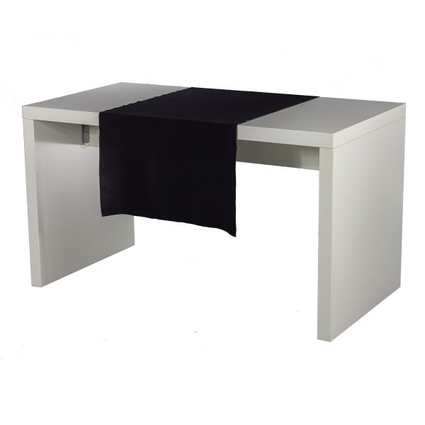 dieeventausstatter Tischläufer schwarz